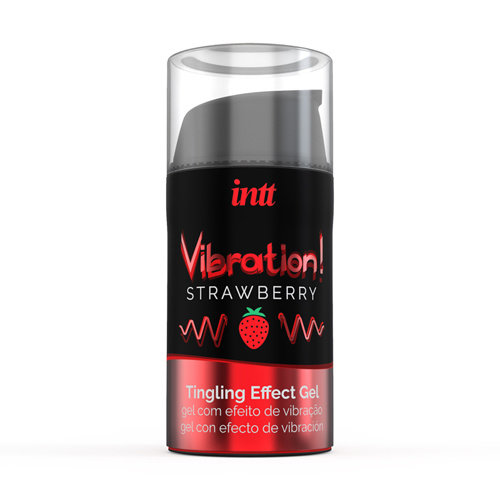 INTT Vibration! Strawberry Tingling Gel