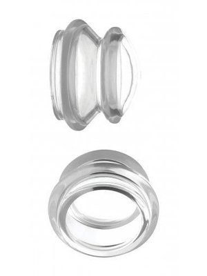 Master Series Clear Plungers Nippelsauger - Klein