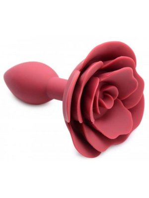 Master Series Beute Bloom Silikon Rose Anal Plug