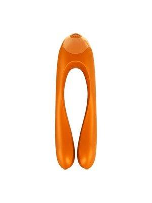 Satisfyer Satisfyer Candy Cane Fingervibrator - Orange