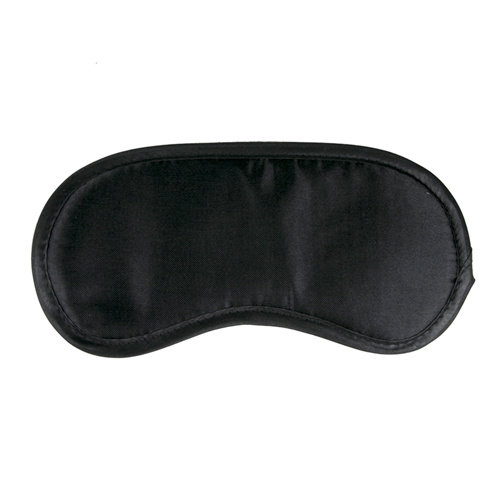 Easytoys Fetish Collection Schwarze Augenmaske aus Satin