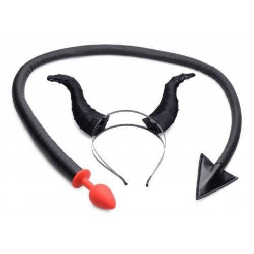 Tailz Teufelsschwanz-Analplug und Horn-Set