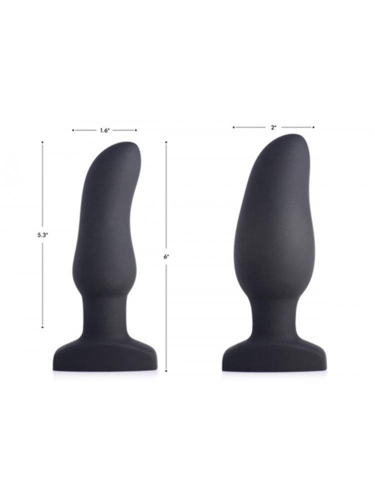 Swell Aufblasbarer und vibrierender Prostata-Analplug