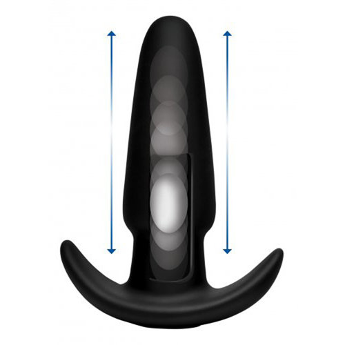 Thump It Thump-It Curved Buttplug aus Silikon - Medium