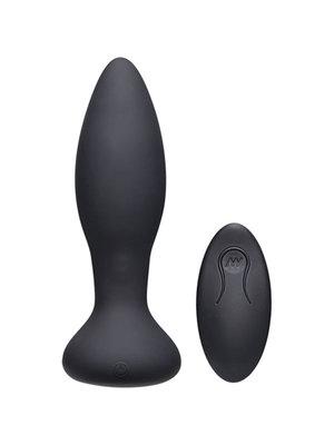 A-Play Rimmer Experienced vibrierender und rotierender Analplug - Schwarz