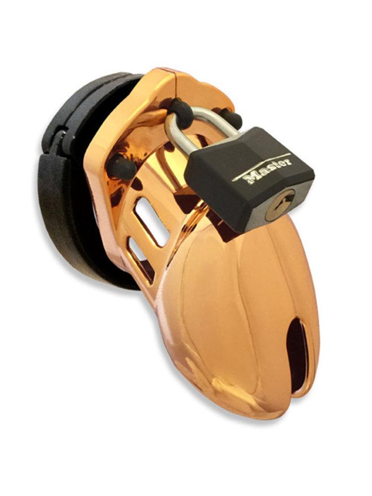 CB-X CB-6000S Gold Chastity Cage