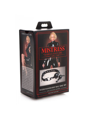 Mistress by Isabella Sinclaire Isabella Sinclaire Ballknebel Set