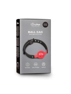 Easytoys Fetish Collection Ballknebel mit PVC-Ball - Rot