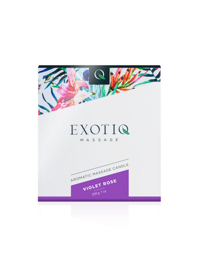 Exotiq Exotiq Massagekerze Violet Rose - 200g