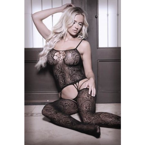 Sheer Fantasy Nights Like This Straps-Catsuit