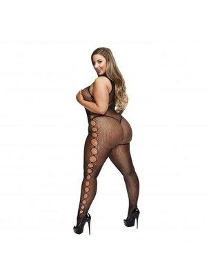 Baci Lingerie Baci - Sexy Catsuit mit gewagten Seiten - Für Kurven