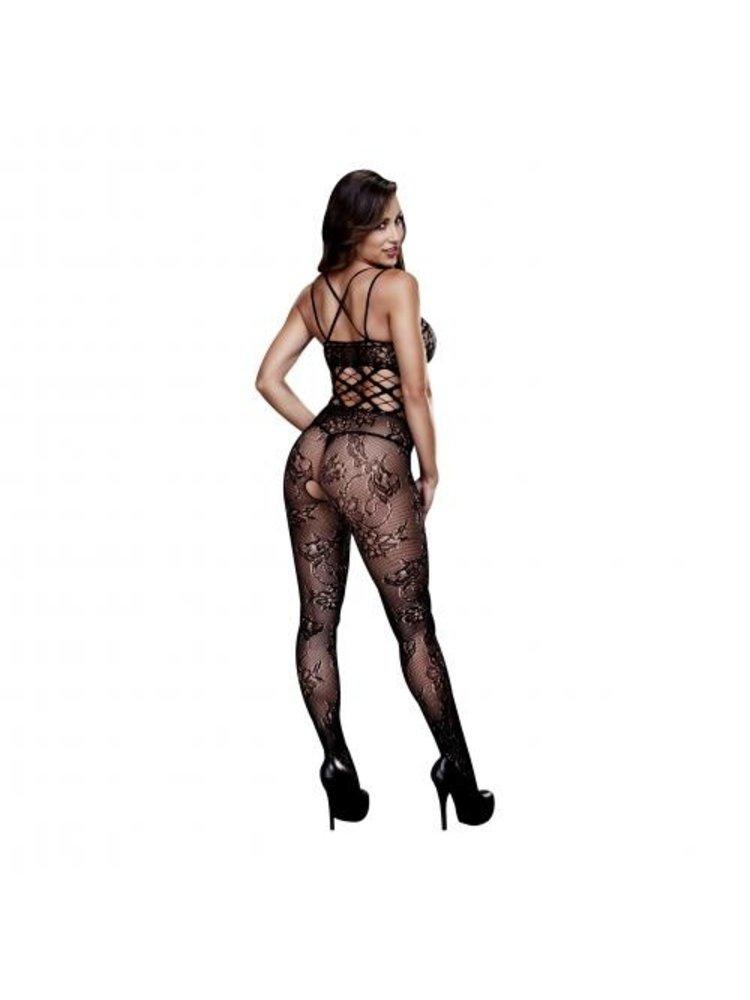 Baci Lingerie Baci - Sexy Catsuit mit offenem Schritt