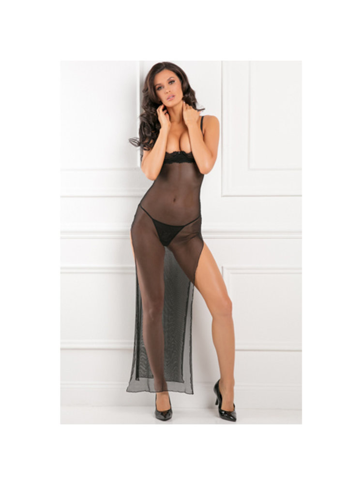 Rene Rofe All Out There Kleid mit offenen Cups