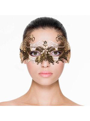 Easytoys Fetish Collection EasyToys – Venezianische Maske aus Metall in Gold