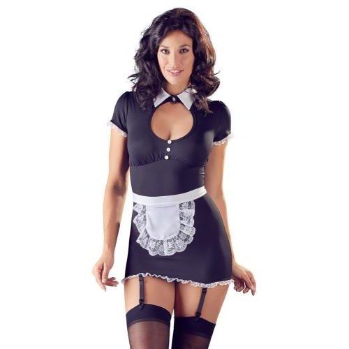 Cottelli Collection Sexy Dienstmädchenkostüm mit Strumpfband