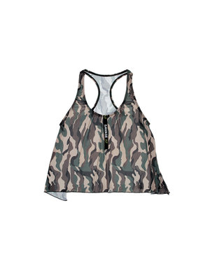 Vibes Camouflage Racerback Top