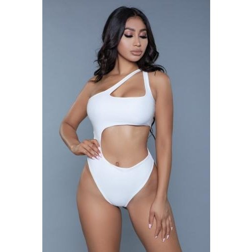 Be Wicked Swimwear Quinn Badeanzug - Weiß