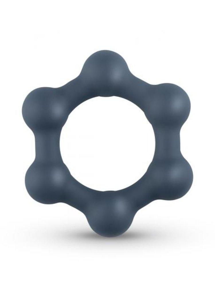 Boners Boners Hexagon Penisring mit Stahlkugeln