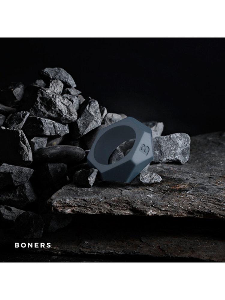 Boners Boners Diamond Penisring - grau