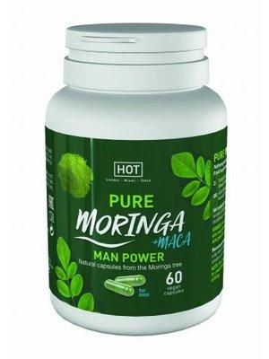 HOT HOT BIO - Moringa Power-Kapseln für Männer - 60 Stk.