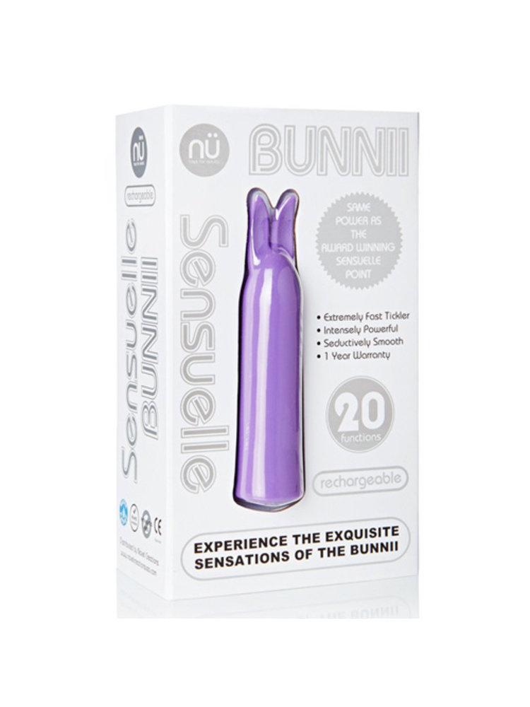 Nu Sensuelle Bunnii Mini-Vibrator - Lila