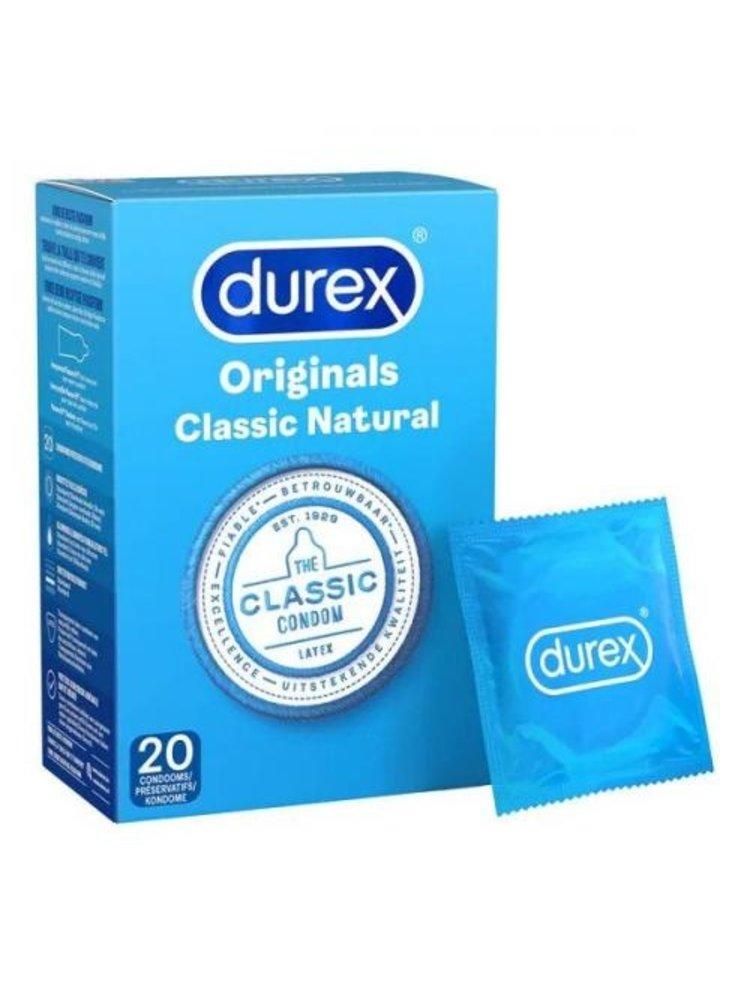 Durex Durex Classic Natural 20 Stück
