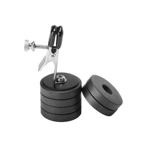 Master Series Onus Nippelklemme mit Magnetgewichten