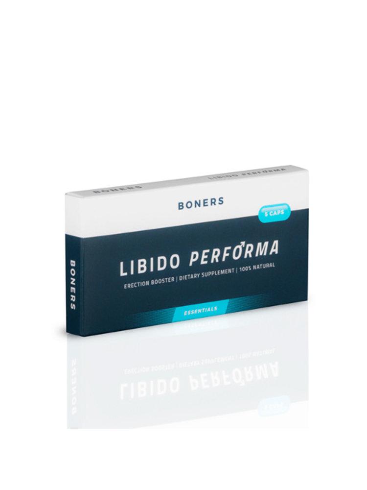 Boners Boners Libido Performa Erektionsverstärker - 5 Stück