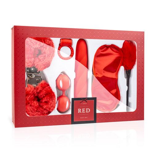 LoveBoxxx LoveBoxxx - I Love Red Liebespaar-Box