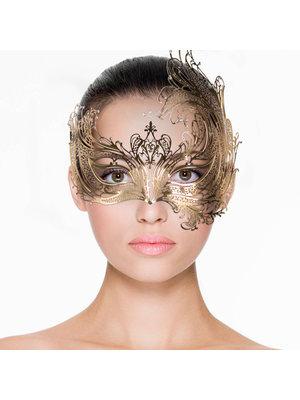 Easytoys Fetish Collection EasyToys – Durchbrochene venezianische Maske in Gold
