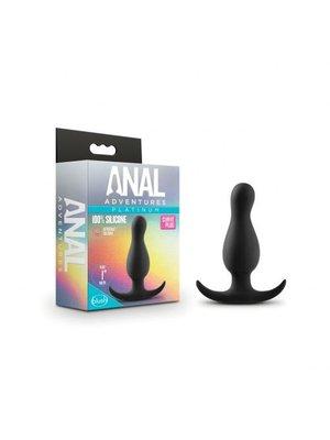 Anal Adventures Anal Adventures Platinum - Curve Plug - Schwarz