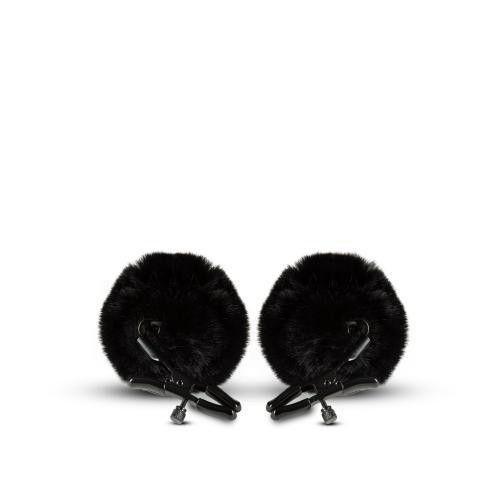 Noir Noir - Pom Verstellbare Nippelklemmen - Schwarz