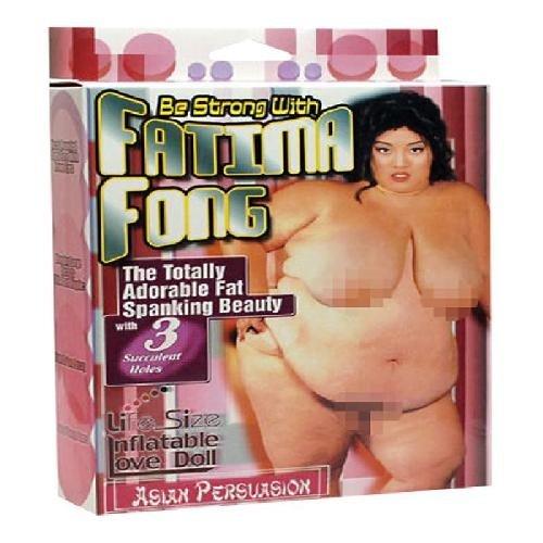 You2Toys Fatima Fong Fat Love Doll - Sexpuppe
