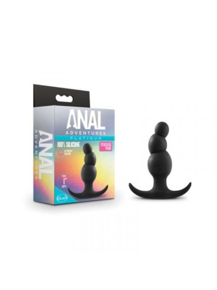 Anal Adventures Anal Adventures Platinum - Stacked Plug