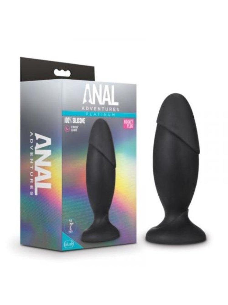 Anal Adventures Anal Adventures Platinum - Silicone Rocket Plug