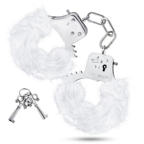 Temptasia Temptasia - Plüsch-Fell-Handschellen - Weiß