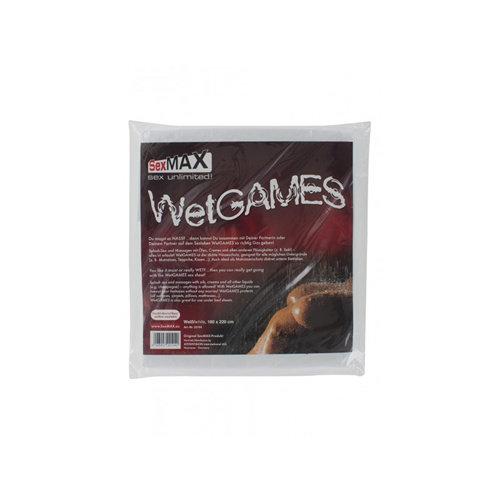 Joydivision SexMAX WetGAMES Vinylfolie 180 x 220 cm - weiß