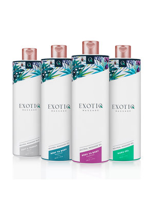 Exotiq Exotiq Body To Body erwärmendes Körperöl - 500 ml
