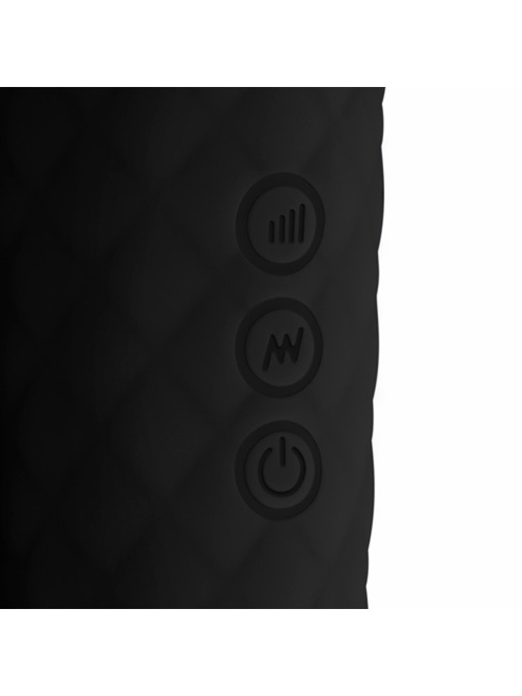 Easytoys Wand Collection EasyToys Mini Wand-Vibrator - Schwarz