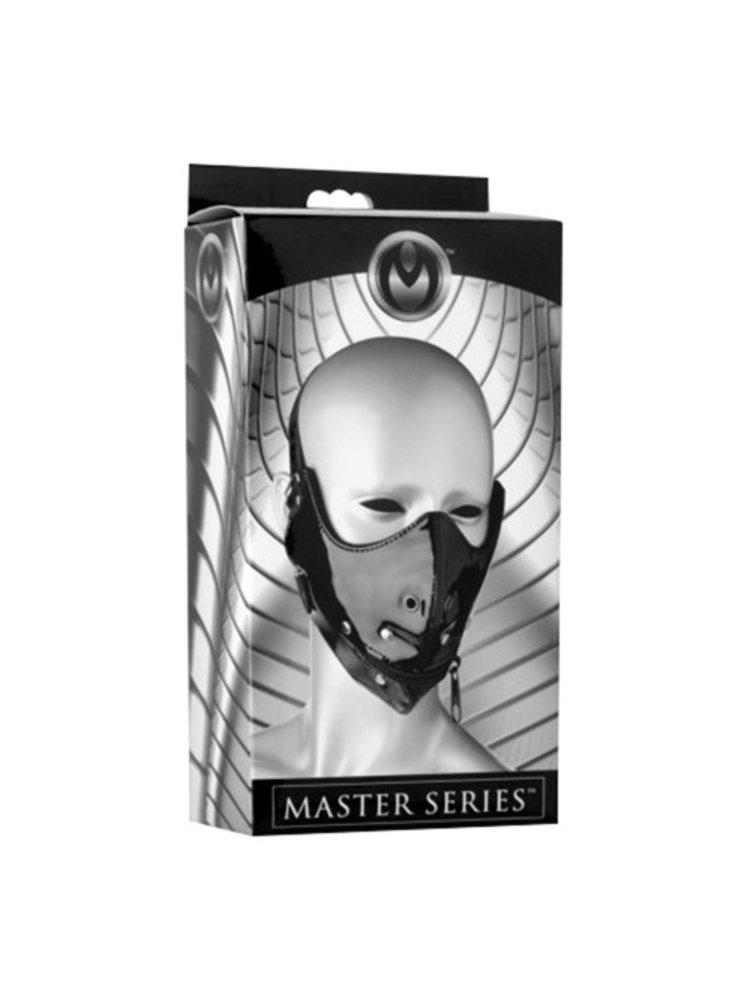 Master Series Lektor Mundkorb mit Reißverschluss