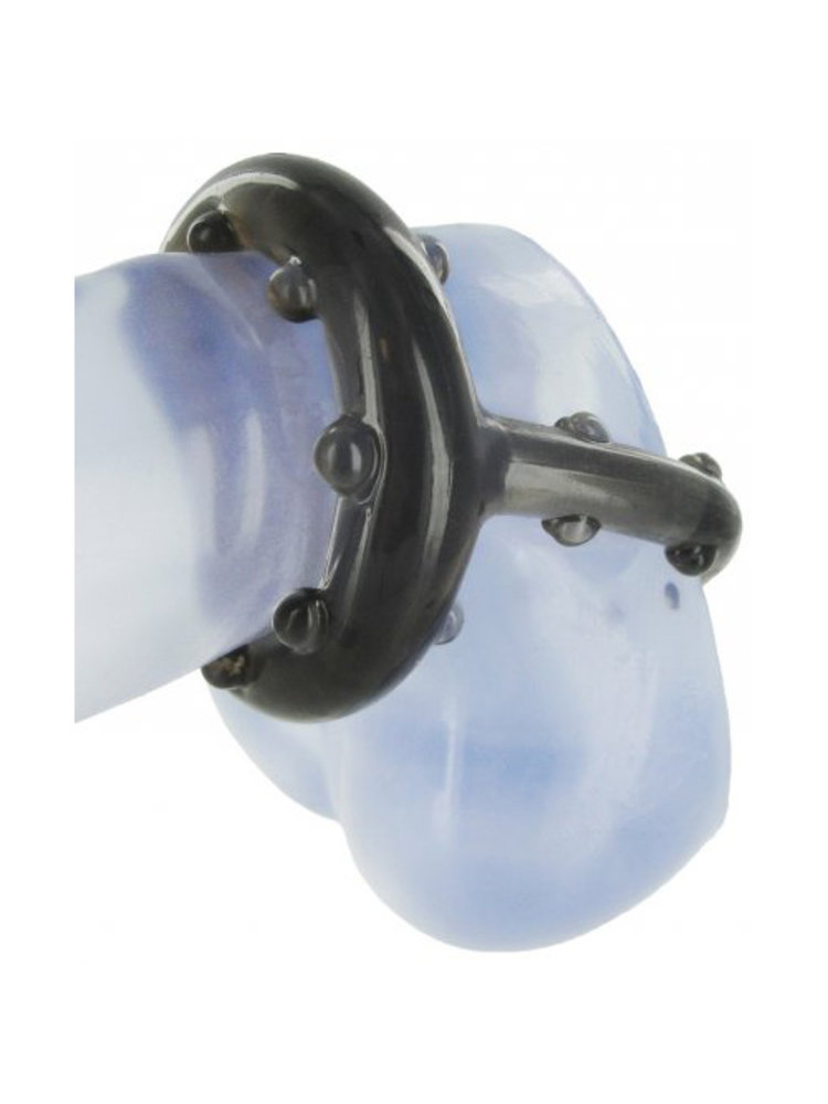 Master Series Cock And Ball Holster Penisring mit Stimulationsnoppen