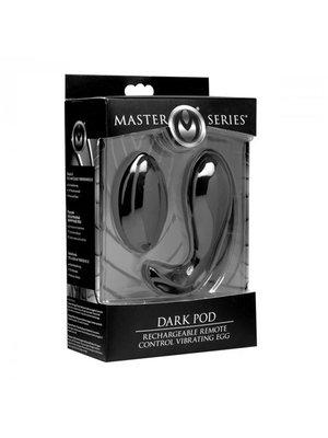 Master Series Dark Pod - Vibrationsei mit Fernbedienung