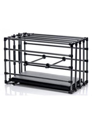 Master Series Verstellbarer Bondage Zwinger Käfig