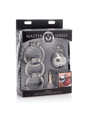 Master Series Exile Deluxe Locking Confinement Cage