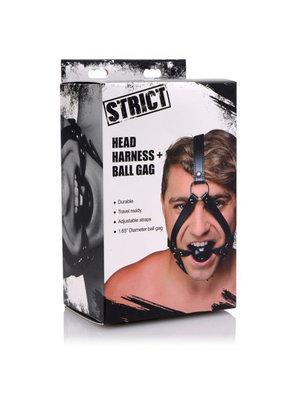 Strict Kopfgurtzeug mit Ballknebel