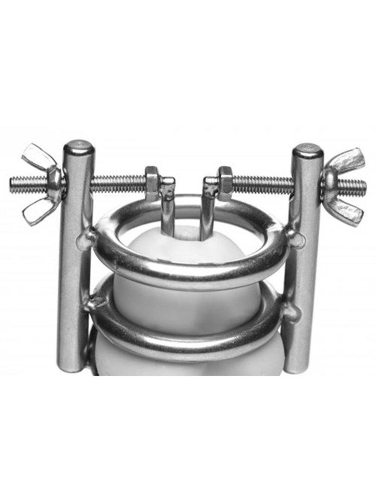 Master Series Deluxe Cleaver Harnröhren spreizer CBT Keuschheitskäfig