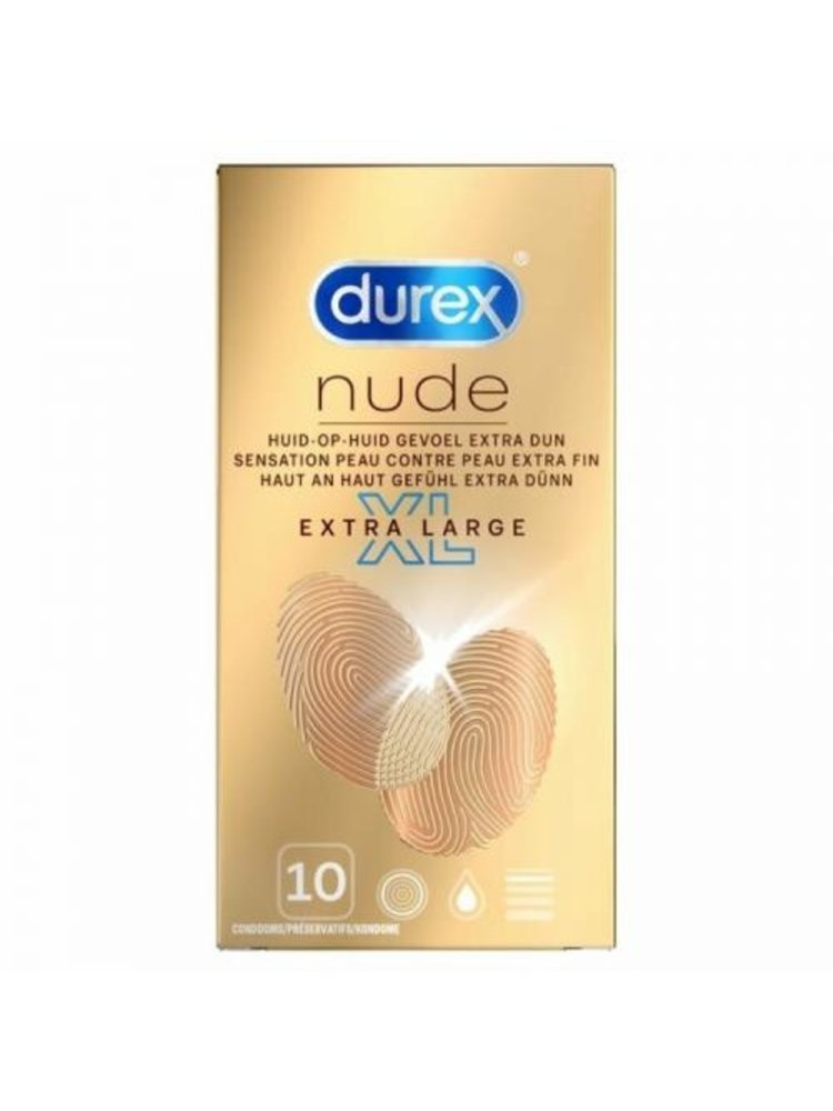 Durex Durex Kondome Nude XL - 10 Stück