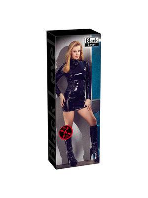 Black Level Lack-Kleid langarm