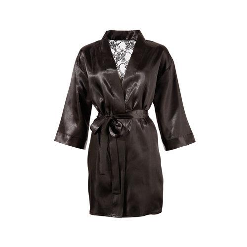 Cottelli Collection Kimono mit Spitzen-Rückseite