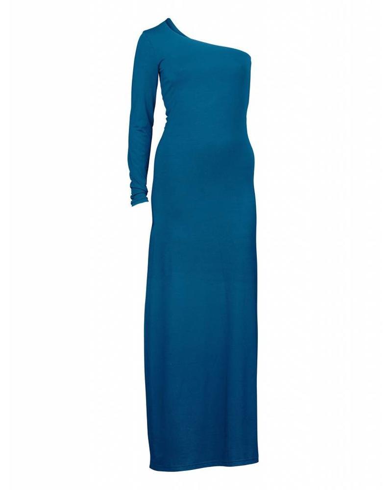 Longlady Dress Janet Petrolblue
